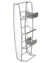 Factory Direct Wholesale Metal Grocery Store Shelf Display Shelf