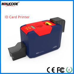 card printing machine plastic id card ic card pvc card printer with single - Pvc Card Printer