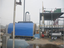 Green Machine Recycling Waste Oil 10ton Oil Distillation Plant