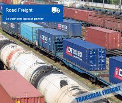 Railway China Rail Transport Train Transportation Railway Shipping Logistics Service to Europe