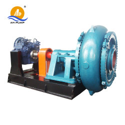 Electric Horizontal High Pressure Sand Suction Dredge Pump