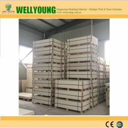 Back Sanded Fireproof MGO Board Interior Decorative Building Material