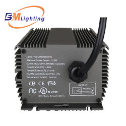 Guangzhou Manufacture 315W Dimmable Low Frequency Grow Light Electronic IC Ballast with LED Display