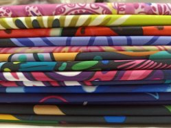 Hight Quality Custom Print Knitted Sportwear Spandex Polyester Fabric