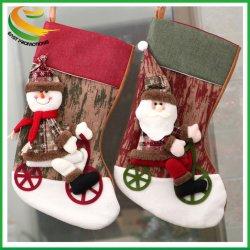 newest design animal plaid christmas stocking pet christmas stocking