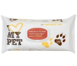 Gently Cleans Away Dirt and Odor Antibacterial Cleansing Pet Wet Wipes for Chinese Factory