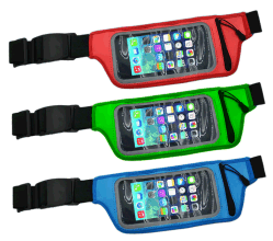 Top Sale PVC Outdoor Running Sports Waist Bag for Carrying Mobile Phone
