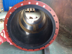 Large Diameter Abrasion Resistant Sand/Concrete/Mud/Slurry Suction & Delivery Dock Rubber Hose