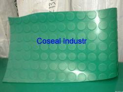 Green Anti Slip PVC Mat Rubber Sheet