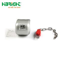 Supermarket Shopping Trolley Coin Lock Zinc Alloy Coin Lock