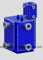 Plate Heat Exchanger for Oil Heating Water