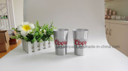 Silver Metal Aluminum Cup for Wine Drinking