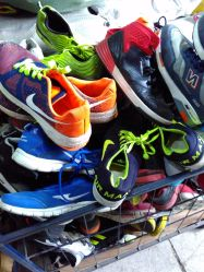 Used Shoes/Second Hand Shoes in Premium Grade AAA Quality Brand Big Size Man Sports Used Shoes
