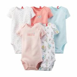 Five Colors Cotton Long Sleeved Baby Triangle Jersey Cloth