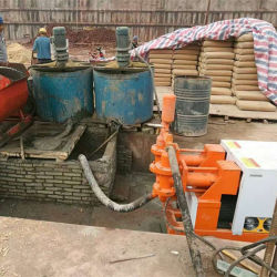 Waterproof Mortar Grout Pump Hydraulic Cement Pump