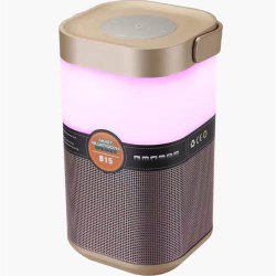 Promotional New Item Smart Light LED Lamp Show Bluetooth Speaker B15 with Loud Stereo Sound