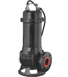 High Power Non-Clog Submersible Sewage Cutting Pump for Muddy Water & Slurry (WQ)