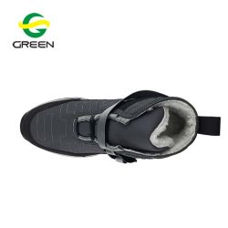 Greenshoe New Product Female Fashion Sneakers with Fur Lining, Women Canvas Sneakers Shoes, Aldult High Cut Sneakers