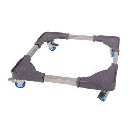 Universal Multi-Function Adjustable Washing Machine Trolley Base