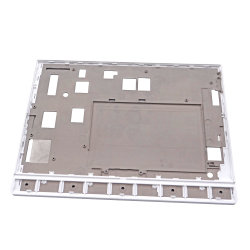 Manufacture Display Screen LED Middle Plate Die Casting Deburring CNC Passivating Engraving Injection