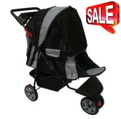 High Quality Pet Products 3-Wheels Pet Stroller Bb-PS02