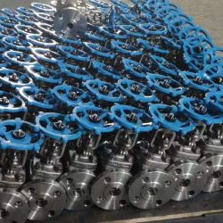 Carbon Steel Stainless Steel Knife Gate Valve (Lug-type) Used for Slurry or Ashes.
