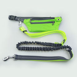 Pet Supplies Pet Running Traction Waterproof Pockets Sports Running Traction Rope Multi-Purpose Traction Belt