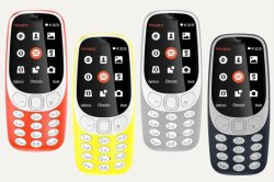 New Arrival for Nokia 3310 (2017) Mobile Phone 2.4 Inches 2MP Dual SIM Unlocked Cellphone