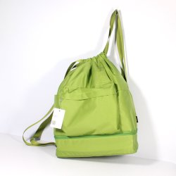 Factory Foldable Portable Candy Color Nylon Waterproof Leisure Sport Eco Friendly Drawstring Bag Backpack Shoulder Bag