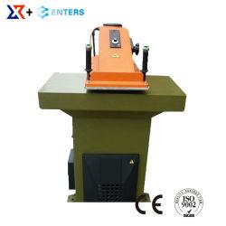 Leather Sport Shoe Swing Arm Die Cutting Press Making Machine
