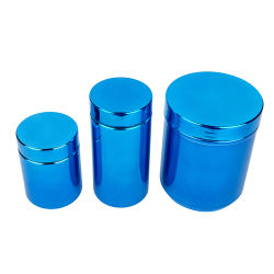 Gensyu HDPE Sports Nutrion Plastic Canister