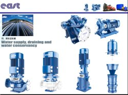 Stainless Steel Speed 2900r/Min Dfl Type Multistage Pipeline Pump for Water Supply Sewage Water