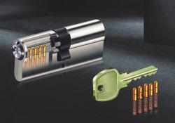 Euro Profile Solid Brass Door Lock Cylinder - Normal Key Series