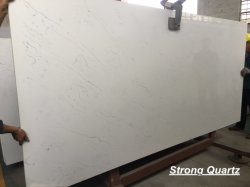 Factory Direct Price Calacatta Quartz Stone for Countertops/Kitchentops/Vanity Tops