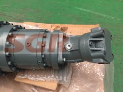 Straight Planetary Gear Speed Reducer, Gearmotors, Gearboxes Coupled with ABB Hydraulic Motor