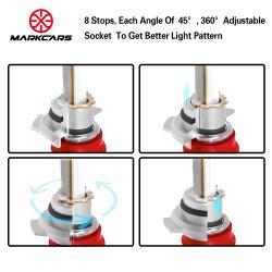 Markcars 60W/8400lm Auto Headlight LED Car Light for Toyota
