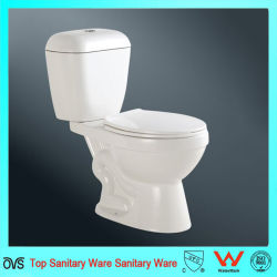 European Style Sanitary Ware White Color Closet Toilet