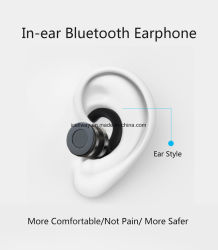 2017 Tws Mini Style Bluetooth Earphone Wireless in Ear Bluetooth Headsets Handsfree with Charging Case