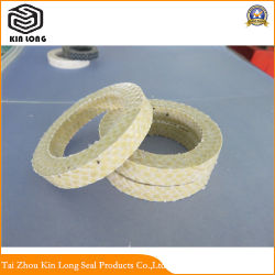 Aramid Fiber Packing Ring; Express Pump Gland Packing Ring PTFE Graphite Packing Ring with Aramid Ring;