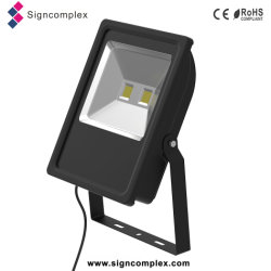 China New Energy Saving 50% Ulthin Slim COB 100 Watt LED Flood Light
