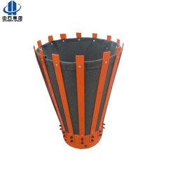 Canvas or Steel Metal Petal Cementing Basket