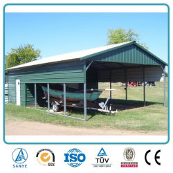 Prefabricated Portable Steel Structure Metal Carport & China Tractor Canopy Tractor Canopy Manufacturers Suppliers ...