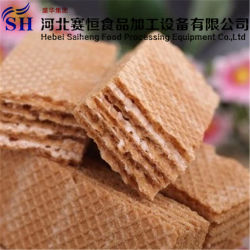Full Automatical Chocolate Wafer Biscuit Making Machine Production Line