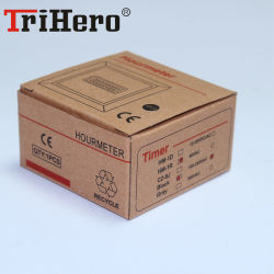 Tirhero Hm-1r Digital Hour Meter with Reset Function Time Relay 220-240VAC 0-999999.99hours Precision 0.01hour