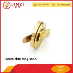 14mm Metal Magnet Snap, Thin and Thick Mag Snap with High Quality