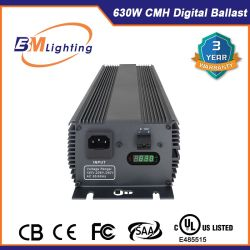 Factory 630W CMH Electronic Ballast Hydroponic Systems Grow Light