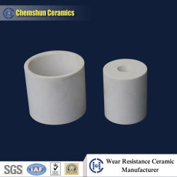 China Manufacturer of Alumina Ceramic Straight Tube for Wear-Resistant