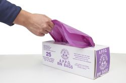 Manufacturer Price Plastic Colorful Garbage Bin Bags