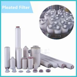 Multi Cores 10 20 Inch PP Pleated Candle Filter/Micron PP Pleated Filter Cartridge for Stainless Steel Filter Cartridge Housing