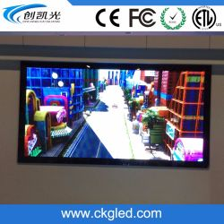 Indoor High Contrast Wall Mounted P7.62mm LED Video Wall Display